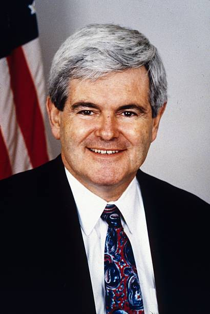 Newt Gingrich (8) – House Speaker, Republican Whip From Georgia