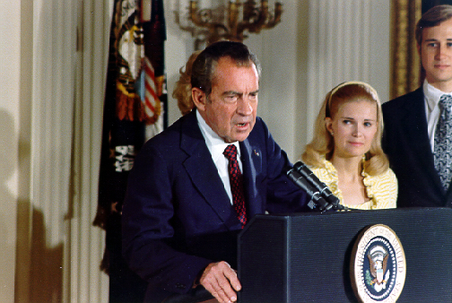 President Nixon Farewell Speech to White House Staff, August 9, 1974